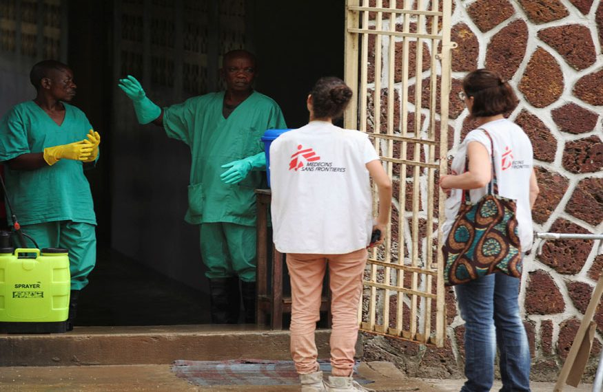 Doctors Without Borders Aid Workers In Africa Used Prostitutes Report