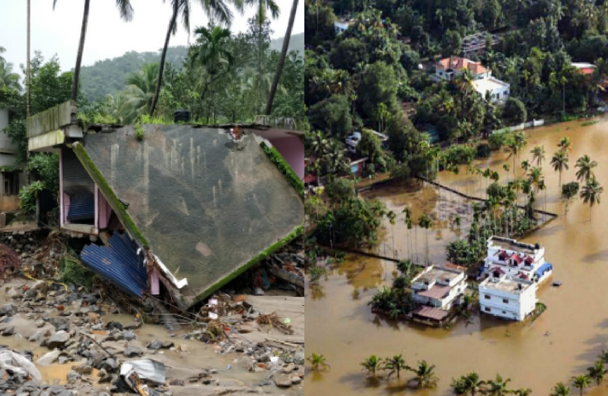 A never before witnesses calamity in Kerala!