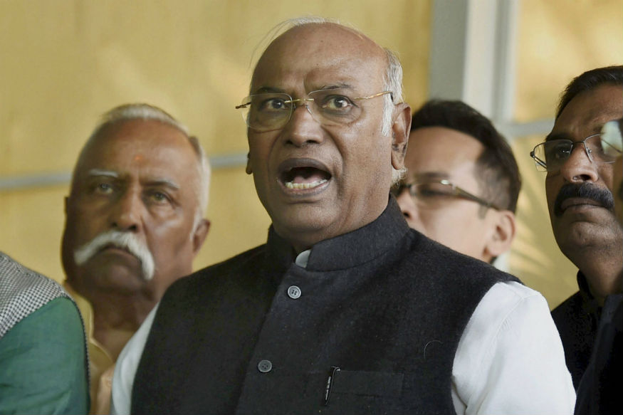 Mallikarjun Kharge terms Budget as BJPs Election Manifesto